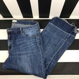5 for $25 Forever 21 + Plus Raw Hem Crop Jeans